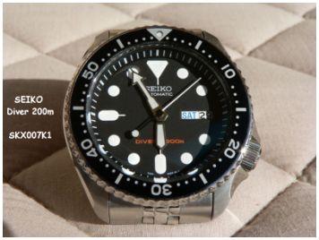 Seiko Diver 200m SKX007K1