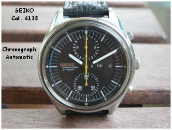 Seiko Chronograph Cal.6138